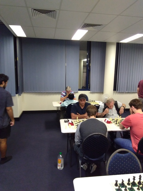Gold Coast Chess Club Allegro – Ethan and the fishing pole!